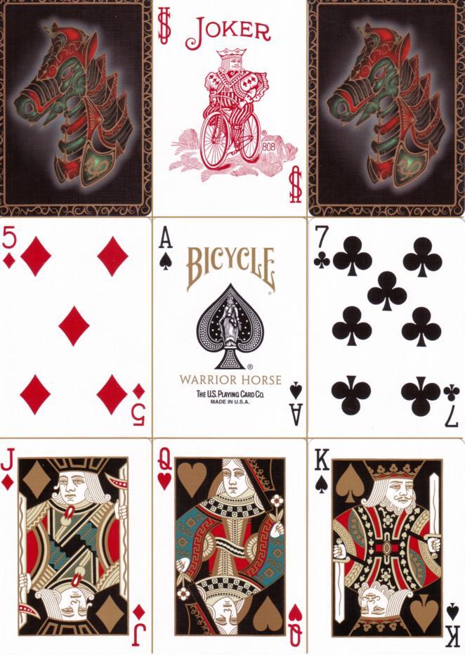 ... sehr schöne Designer-Spielkarten
