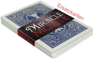 Miracle Monte Ersatzkarten