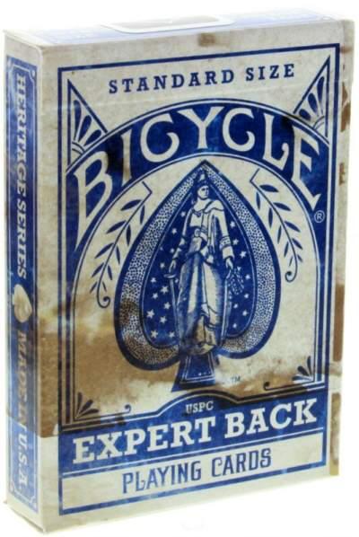 Bicycle Expert Back Heritage Deck - Blau